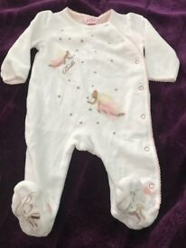 Ted baker girls baby grows