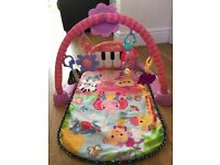 Fisher Price kick and play piano play mat excellent condition