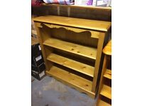 Solid Pine Bookcase / DVD / Xbox / PC Game Case
