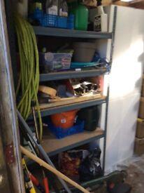 Sturdy garage/storage shelf