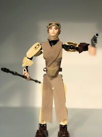 Rey buildable Lego figure