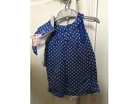 BNWT Mothercare girls summer outfit age 3-4