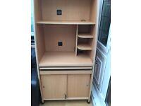 Computer Desk/Cabinet.