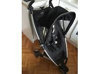 Quinny Zapp black stroller