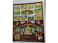 Commemorative Ramayan September 2017 stamps for collection.