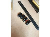Genuine Vauxhall Frontera roof bars for running rails