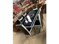 Brand New Dining Table With 4 or 6 Chairs Available is for 199 pounds Order Now