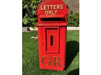 GR Cast Iron Royal Mail Post Box
