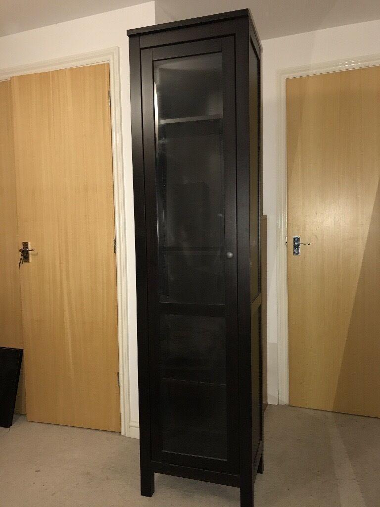 Hemnes Glass Door Cabinet Adding Comfort And Efficiency To Your For