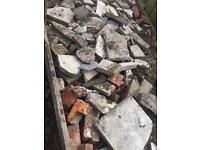 Free paving and bricks