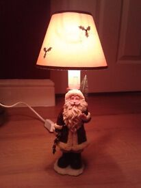 Father Christmas Electric Lamp