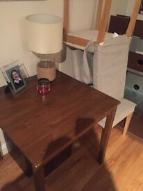 Table brown wood