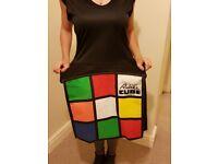 Fancy dress Rubik's Cube dress