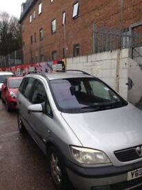 Zafira 7 seater open to offers
