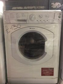 HOTPOINT free standing washing machine 7 kg in good condition & fully working order
