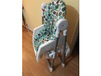 Mammas and Pappas Baby high chair £25
