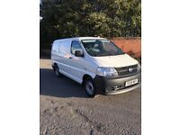 2008 Toyota hiace swb d4d with only 83k with history an only 1 owner from new