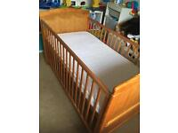 Cot bed (Babies R Us)