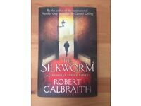 First edition Silkworm signed by JK Rowling (aka Robert Galbraith) with hologram