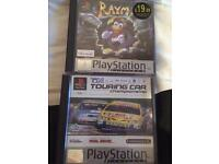 Two playstation 1 games