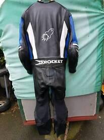 joe rocket one piece racing leathers armoured
