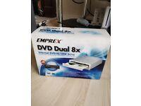 EMPREX DVD DUAL 8X INTERNAL DVD DRIVE