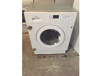Integrator SMEG WDI12C7 Digital Washing Machine Fully Working with 4 Month Warranty