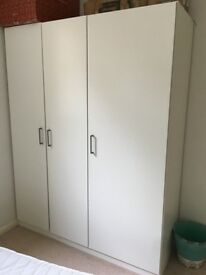 Ikea triple wardrobe