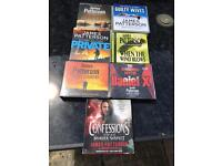 JAMES PATTERSON 7No audio cd books)