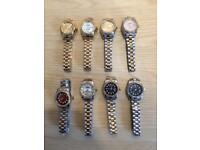 Ladies Rolex Womens Cartier Michael kors Ap Audemars Piguet MK Designer watches london cheap hendon