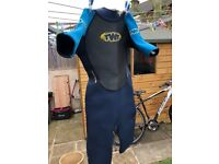 Wetsuits - TWF age 14/15 great condition