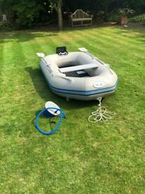 WavEco 230 Inflatable Dinghy Tender Boat Rib
