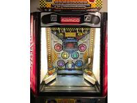 coin pusher pacman ball 10p play very good condition, fully working with manuals
