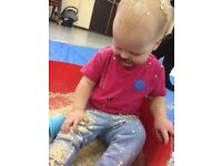Splat messy play class for babies and toddlers