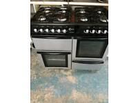 Flavel 8 burner dual cooker