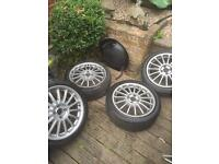 "17"" Xpower alloy wheels £100 ONO"