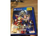 PlayStation4 game FATE EXT