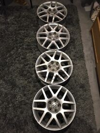 Set of bbs alloy wheels all in good working order , comes with 3 Yokohama tyres if wanted.. £150