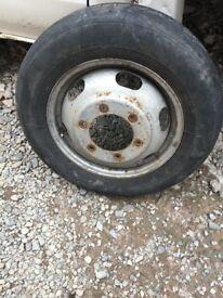 ford transit tipper wheel
