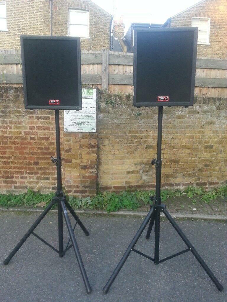Peavey UL12 speakers ( Not mackie, rcf, yamaha, ev, dinacord, behringer, boss, db technologies ...