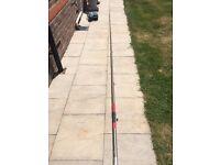 Fishing Rod, Telescopic, light weaith, good condition, set to any length upto 4.5 m