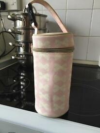 Yummy mummy changing bag and bottle holder