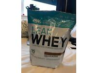 Lean whey high protein powder