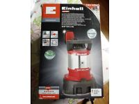 Einhell water drainage pum loaded 2 in 1 combined 730 wats brand new with box rrp£156 on ebay