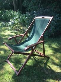 Deck chairs - x6 Hardwood Deck chairs