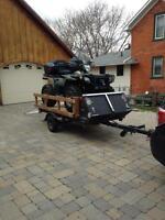 5x8 utility ATV trailer