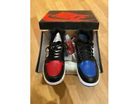 Nike Air Jordan's 1 Blue Red Sneakers