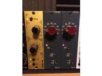 AML ez1081 x2 and 5003D 'Carnhill' 500 series preamp Modules
