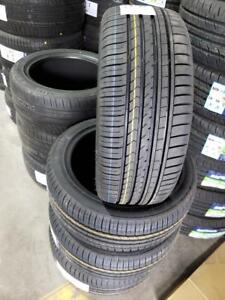 2 TIRES 245/45R18 NEW WITH STICKERS