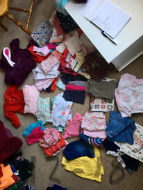 12-18 Months Girl Bundle (81 items)
